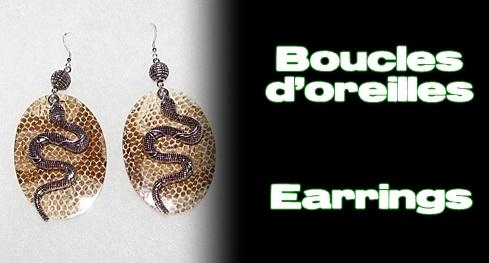 Élevages Lisard - Boucles d'oreilles / Earrings